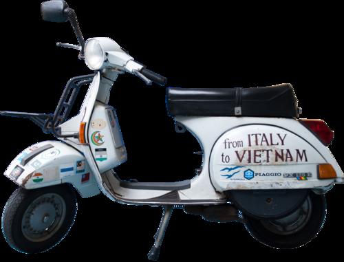 Vespa 125 PX Italia-Vietnam