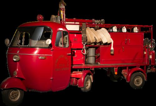 APE PENTARò - firemen's version