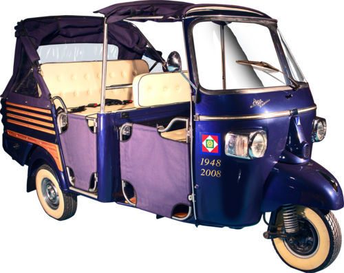 NEW APE CALESSINO – SPECIAL VERSION FOR THE President of the Italian Republic