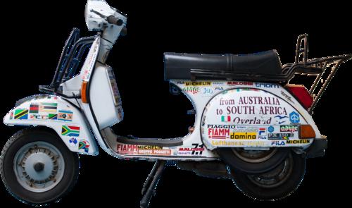 Vespa 125 PX Australia-Sud Africa